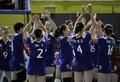 中国女排3-1获季军