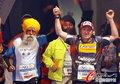百岁老人参加马拉松赛