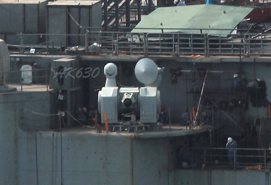 中国航母舰载武器安装完毕 - 都市乡里人 - 都市乡里人