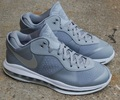 组图:Nike Lebron 8 V2 Low狼灰色发布