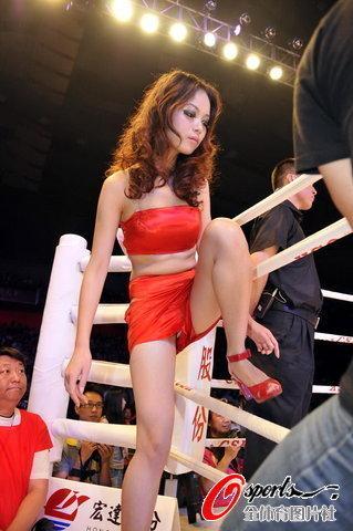 WBC中国赛靓丽女郎点燃赛场激情,人体艺术,性感美女,美女图片