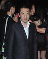 高清:上海电影节后台 导演贾樟柯现身露面