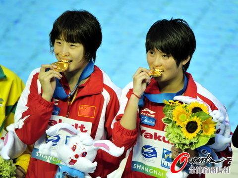 陈若琳/汪皓双人10米台夺冠 领先36分夺第4金