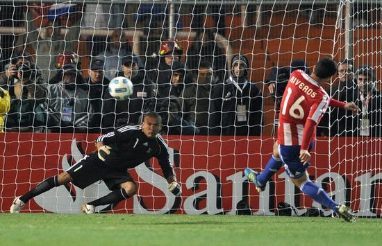 美洲杯-10人巴拉圭点球5-3获胜 决赛战乌拉圭