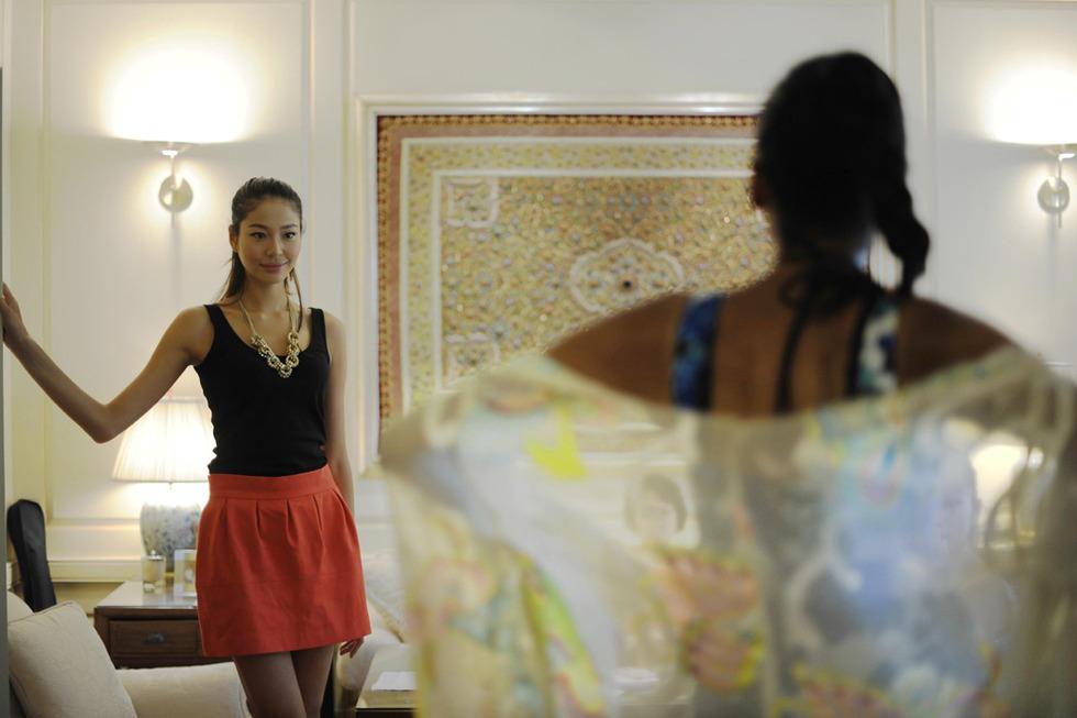 中国佳丽纽约备战环球小姐总决赛 - 几度夕阳红 - 几度夕阳红