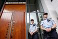 高清:挪威袭击事件嫌疑人布雷维克出庭