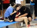 中国水球女选手受重伤