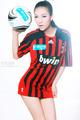 米兰足球宝贝写真