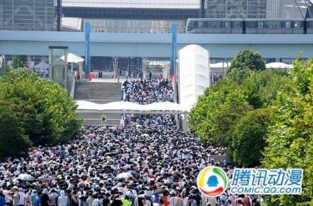 3日间54万人 日本C80展会圆满结束