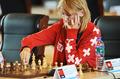 组图:大运会国际象棋第一轮开赛