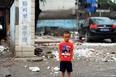 组图:北京打工子弟学校开学前被铲平
