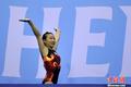 高清:韩国受伤体操女将返赛场 勇夺跳马金牌