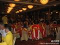 中国女排香港出席晚宴