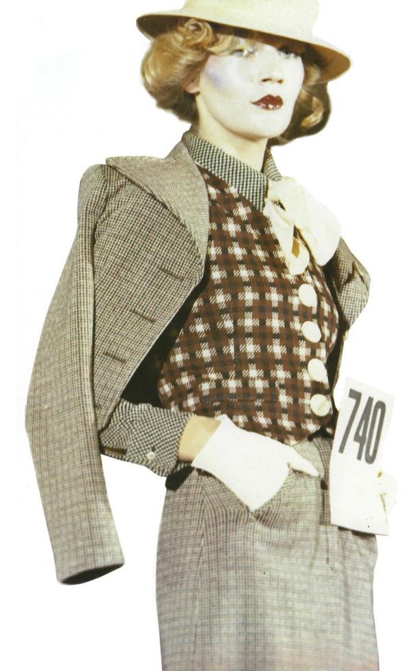 为escargots设计的针织服