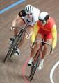 组图:大运自行车争先赛 俄男子夺冠张淼摘铜