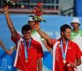 组图:波兰获大运男子沙排冠军 帅哥组合领奖