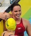 组图:大运女子200米蝶泳 英国选手摘金