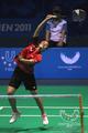 羽毛球团体印尼夺冠
