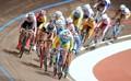 组图:场地自行车女子计分赛 乌克兰选手夺冠
