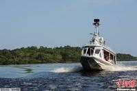 组图:谷歌街景三轮车登船进军亚马逊河