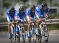 组图:男子50公里公路团体计时赛 俄罗斯夺冠