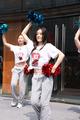 组图:加内特北京球迷见面会 拉拉队炫舞助阵
