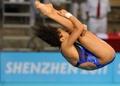组图:大运跳水女子三米板 中国队包揽冠亚军