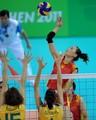 组图:大运会女排决赛 中国负于巴西屈居亚军