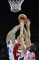 高清:塞尔维亚男篮胜俄罗斯队 晋级大运决赛