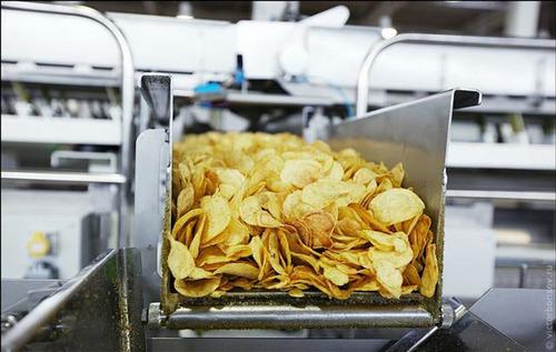 土豆大变身 探秘薯片制作全过程