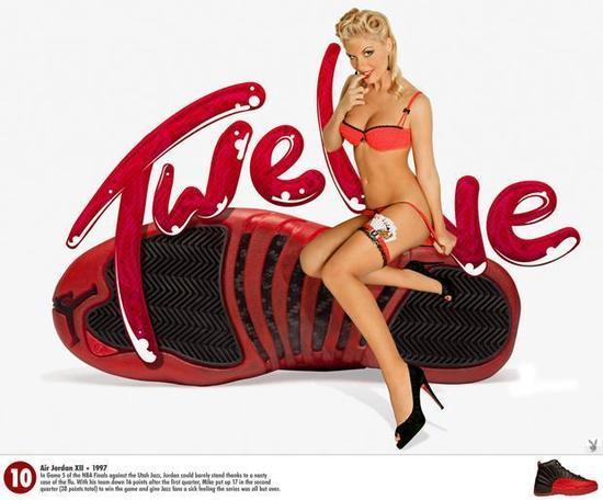 组图:乔丹球鞋主题美图 令美女