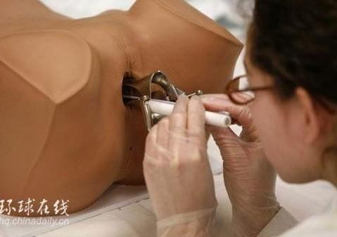 实拍妇科实习:女性私处检查全过程组图