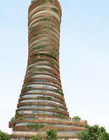 前卫设计亮相:太空站式结构超越印度泰姬陵
