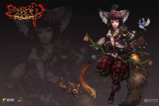 《斗战神》是腾讯游戏自主研发的一款3DMMORPG,游戏完全