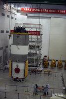 实拍天宫一号发射准备过程