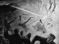 百年前科幻小说家预言成真:火星人和激光枪