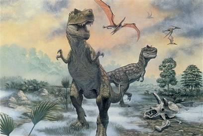 秘最凶残的7种恐龙 霸王龙号称骨骼粉碎机