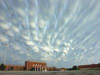 全球十大奇异云朵:形状如同飞碟的高积云