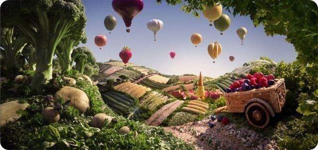 英国摄影师用食物搭出绝美风景(组图) - 科学探索 - 探索发现|宇宙奥秘|自然地理