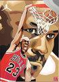 漫画:乔丹12个经典瞬间 陪你回顾MJ难忘岁月