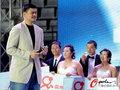 组图:姚明参加中网集体婚礼 送新人美好祝福