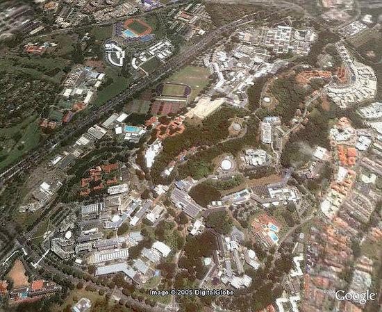 新加坡国立大学院校风光