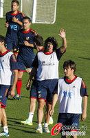 组图:欧预赛西班牙备战苏格兰 力争全胜出线