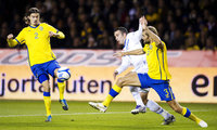 组图:荷兰客场负北欧海盗 亨特拉尔继续进球