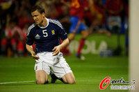 组图:西班牙3-1苏格兰 席尔瓦2射1传耀全场