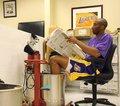 组图:NBA球星读书看报汇总 大姚科比AI上榜