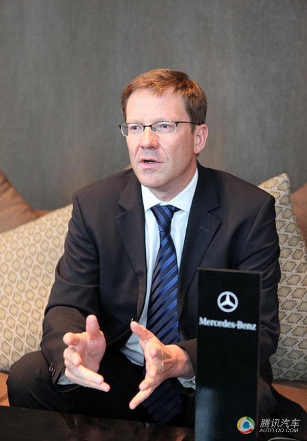 组图 奔驰 中国 销售公司总裁兼CEO麦尔斯