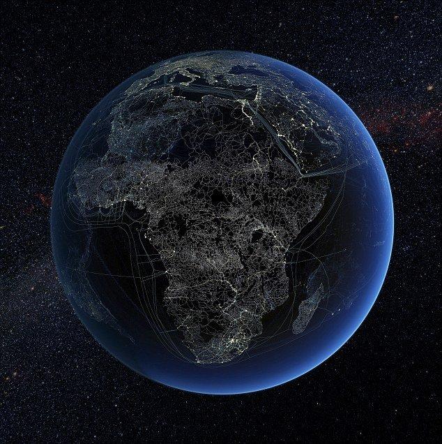 """""""奇特地球""""描绘人类科技壮观开拓图(图) - 科学探索 - 探索发现 宇宙奥秘 自然地理"""