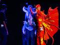 雷人COS:飞舞的红色龙鹰