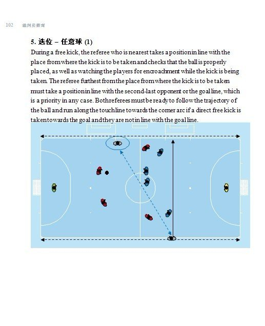室内五人制足球竞赛规则诠释及裁判员指南